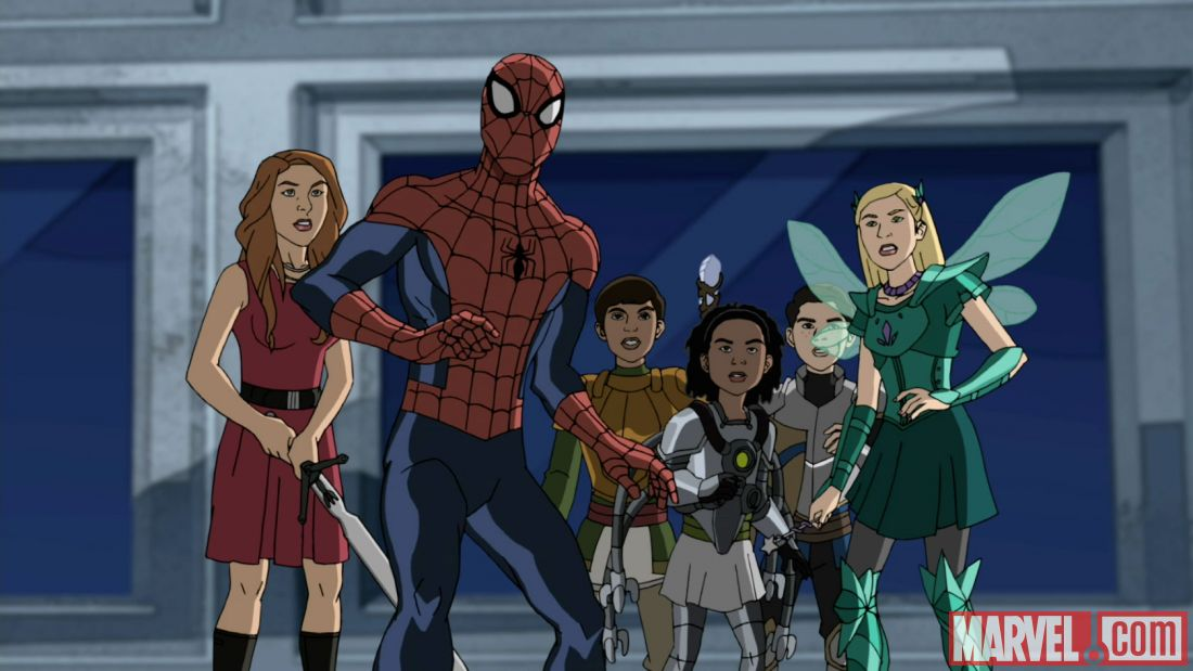 Ultimate Spider Man Black Widow Marvel Ultimate Spider-Man