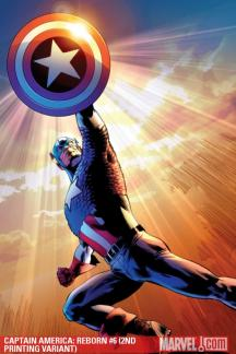 Captain America: Reborn (2009) #6 (2ND PRINTING VARIANT)