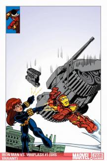 Iron Man Vs. Whiplash (2009) #1 (SHS VARIANT)