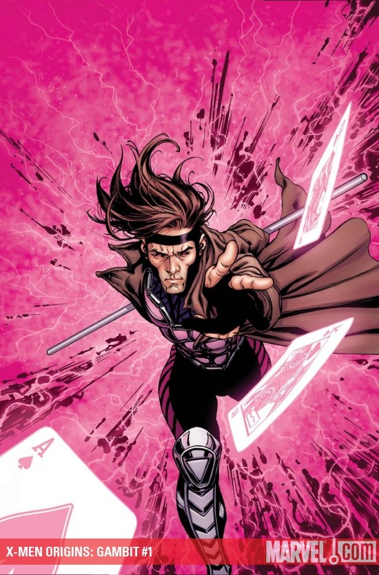 X-Men Origins: Gambit #1 cover by David Yardin