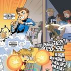 THOR AND THE WARRIORS FOUR #1 Art by Gurihiru