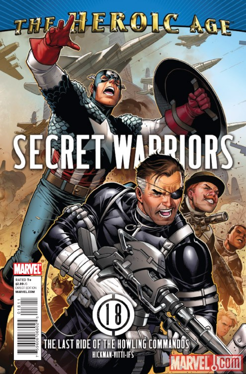 SECRET WARRIORS #18 cover by Jim Cheung