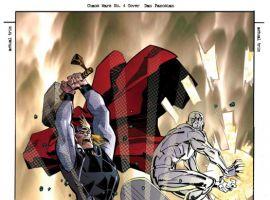 CHAOS WAR #4 cover by Dan Panosian