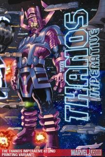 The Thanos Imperative (2010) #2 (2ND PRINTING VARIANT)