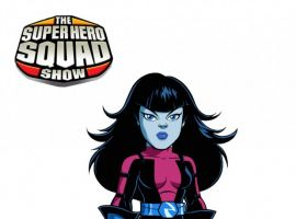 Final color art for Nebula from 'The Suepr Hero Squad Show' Season 2