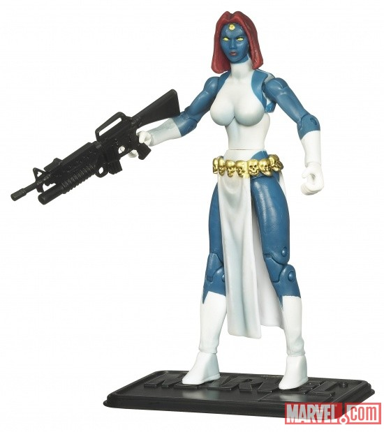 Mystique 3 3/4 Inch Marvel Universe Action Figure from Hasbro, Wave 10