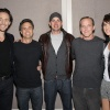 Tom Hiddleston, Mark Ruffalo, Chris Evans, Clark Gregg & Cobie Smulders at New York Comic Con 2011