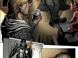 Venom #11 Preview Art by Lan Medina