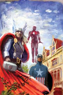 Avengers Assemble (2012) #2 (Avengers Appreciation Variant)