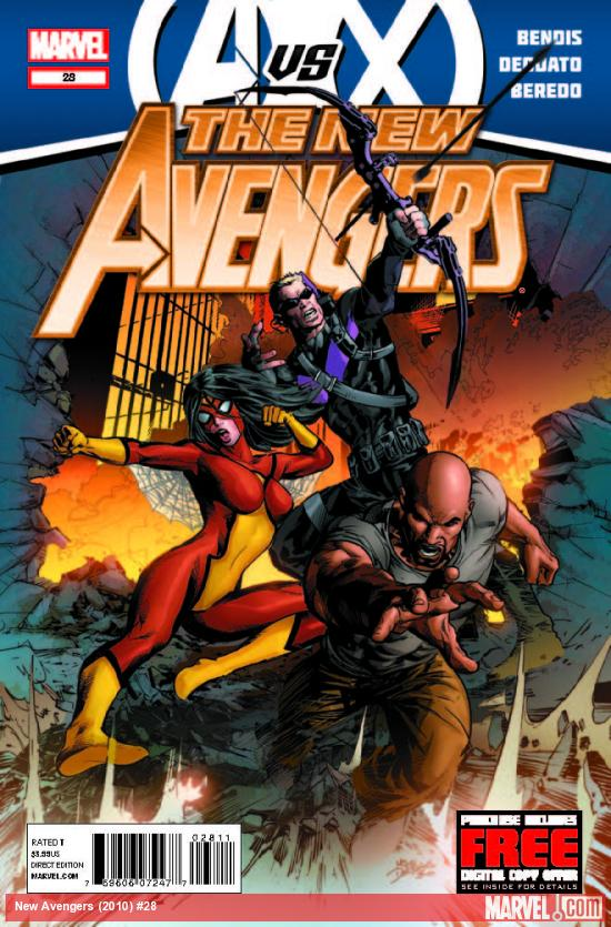 NEW AVENGERS 28 (AVX, WITH DIGITAL CODE)