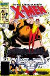 Uncanny X-Men (1963) #206 Cover