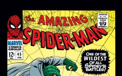Amazing Spider-Man (1963) #45 Cover