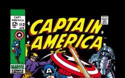 CAPTAIN AMERICA #112 COVER