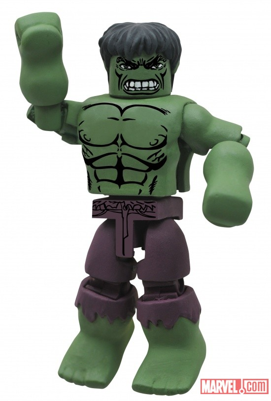 Mega-Rage Hulk Minimate by Diamond Select