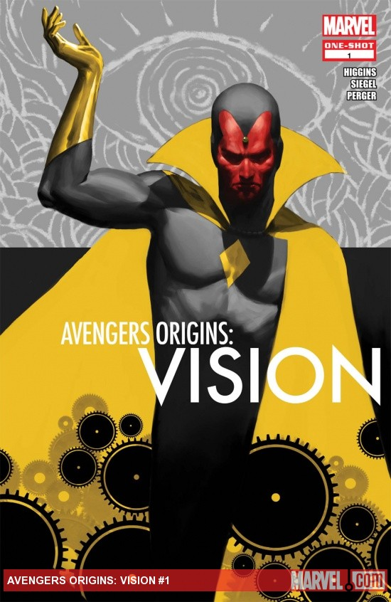 Avengers Origins: Vision (2013) #1