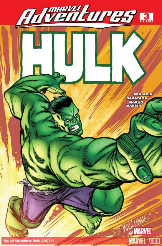 Marvel Adventures Hulk (2007) #3