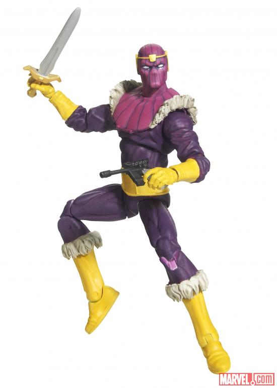 Marvel Universe 3.75 Masters of Evil Baron Zemo Figure