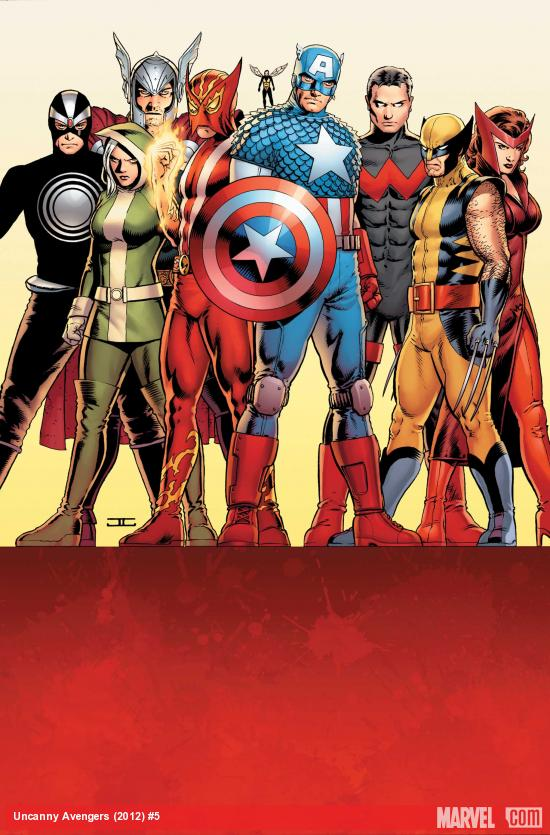 Uncanny Avengers #5 Cover