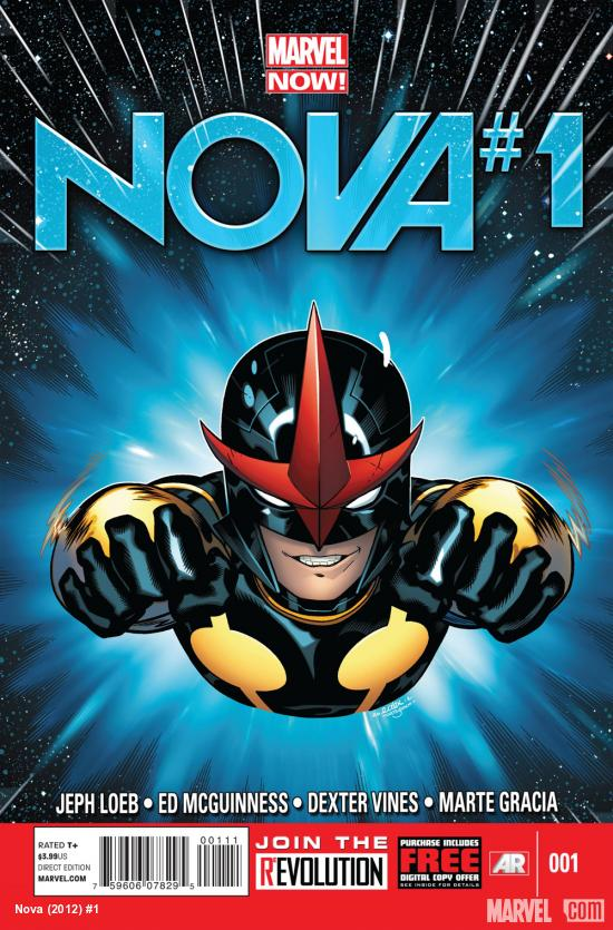 Nova (2013) #1 cover by Ed McGuinness