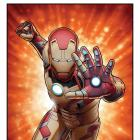 Mark 42 poster by John Tyler Christopher for Marvel's Iron Man 3 from Red Baron