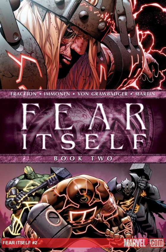 Fear Itself #2 cover by Steve McNiven