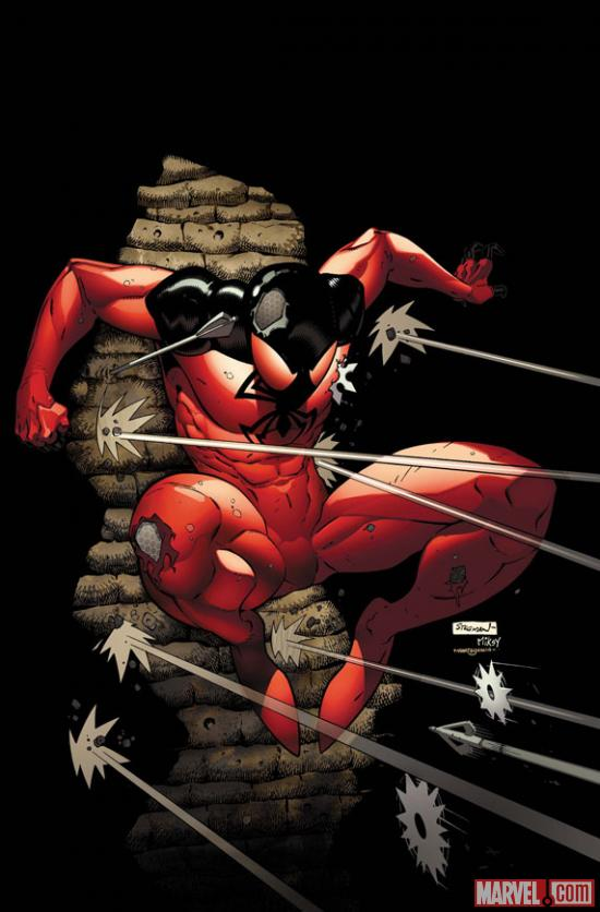 Scarlet Spider #4 Cover by Ryan Stegman