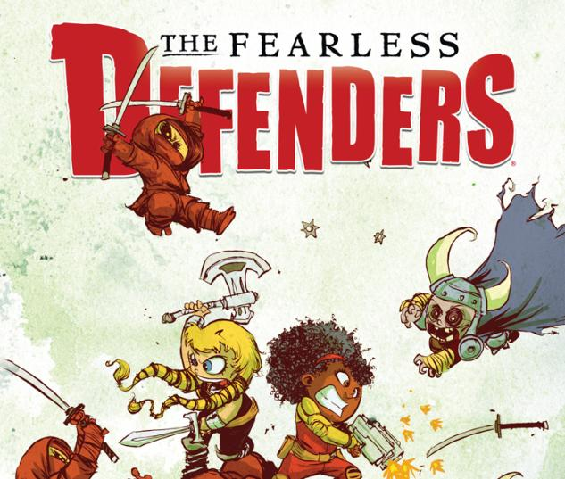 cover from Defenders II (2013) #1 (YOUNG BABY VARIANT)