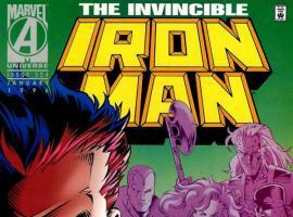 Iron Man #324 cover