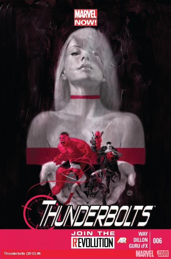 cover from Thunderbolts (2012) #6