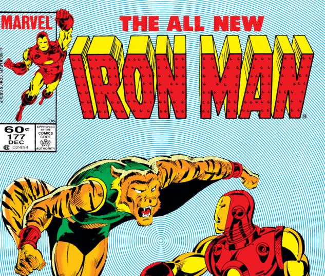 Iron Man (1968) #177 Cover