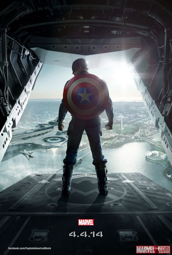 Marvel's Captain America: The Winter Soldier one-sheet poster