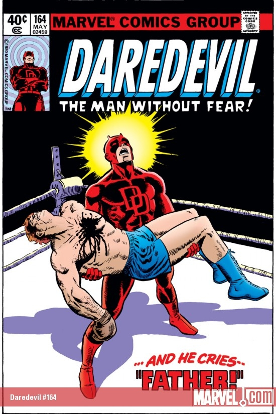 DAREDEVIL #164 COVER