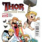THOR AND THE WARRIORS FOUR #3 cover art by Gurihiru