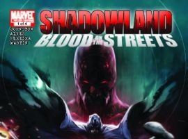 Shadowland: Blood on the Streets #1 cover by Francesco Mattina