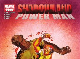SHADOWLAND: POWER MAN #2 cover by Mike Perkins