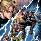 THUNDERSTRIKE #1 (2010) preview art by Ron Frenz 1