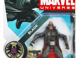 Blade 3 3/4 Inch Marvel Universe Action Figure from Hasbro, Wave 4