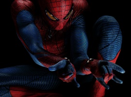 Andrew Garfield as the Amazing Spider-Man