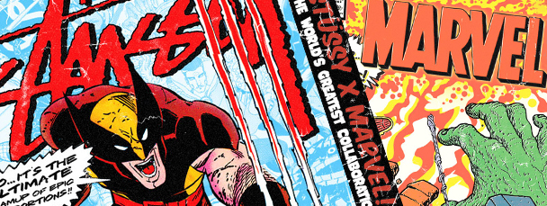 The Stussy x Marvel Project