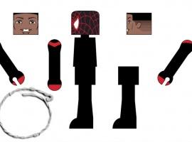 Miles Morales UCSM Minimate Concept Art