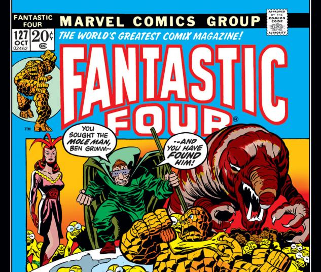 Fantastic Four (1961) #127 Cover