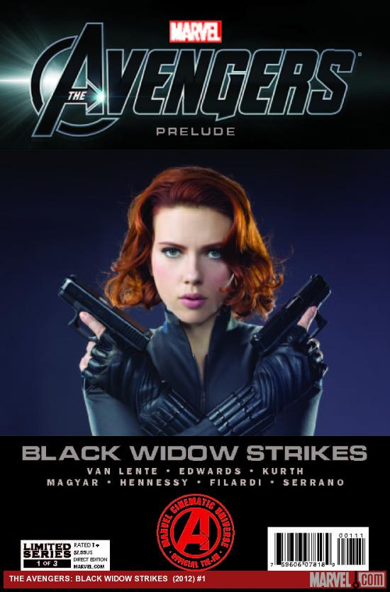MARVEL'S THE AVENGERS: BLACK WIDOW STRIKES 1