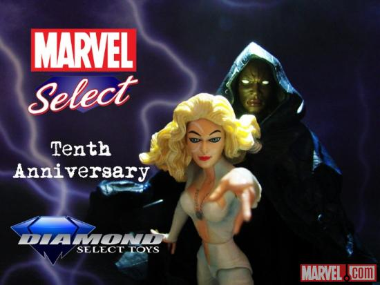 Marvel Select 10th Anniversary Cloak and Dagger Contest Image