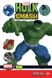 Marvel Universe Hulk: Agents of S.M.A.S.H. #3