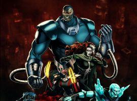 Apocalypse and his Four Horsemen in Marvel: Avengers Alliance