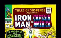 Tales of Suspense (1959) #80 Cover