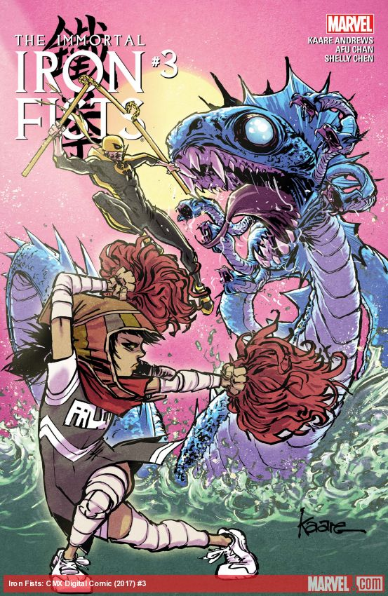 Immortal Iron Fists (2018) #3