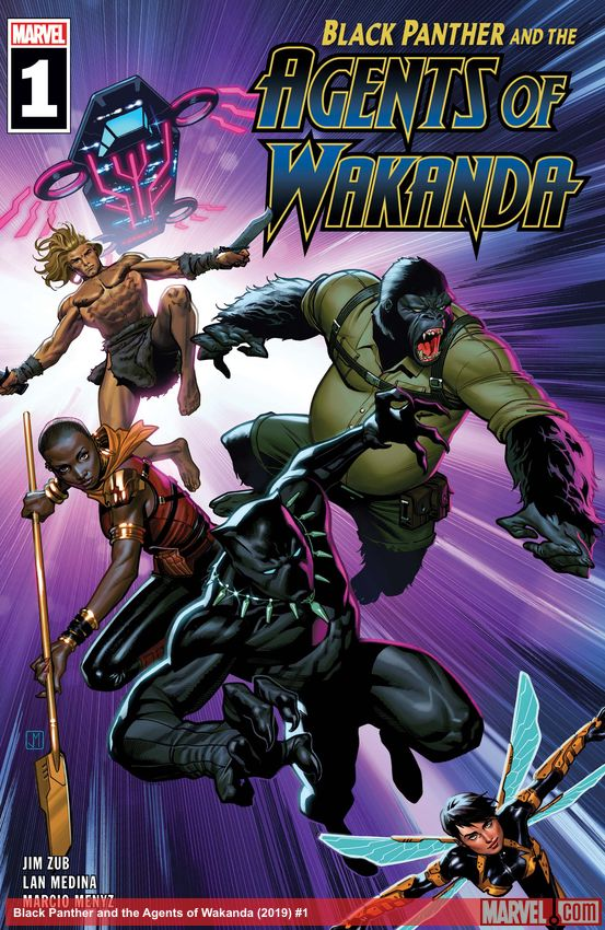 Black Panther and the Agents of Wakanda (2019) #1