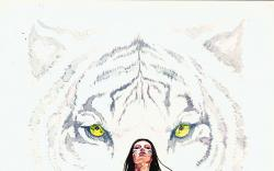 WHITE TIGER (2008) #1 COVER