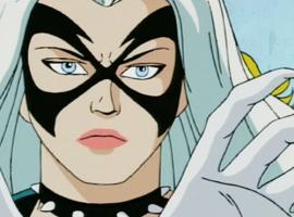 Ultimate Spider Man Tv Series Black Cat Black cat  sm94 Ultimate Spider Man Tv Series Black Cat